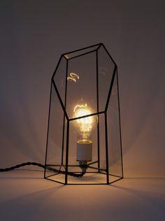 Clear Quartz Lamp by Score + Solder