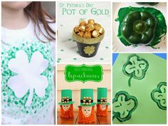 Make these awesome crafts with your kids for St. Patrick's Day!