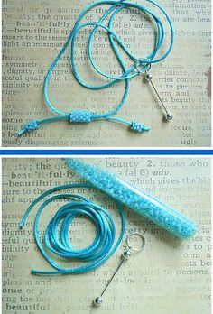 Of course! Why didn't I thought of that?? Cierre Pulsera. Want to make this cool, adjustable cord for your pendants? Get ready!!!