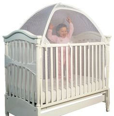 Tots In Mind Cozy Crib Tent II 1, White $52.20