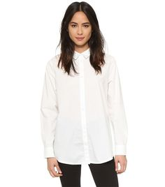 The White-Shirt Manifesto: Your Manual for Wearing a Button-Down via @WhoWhatWear