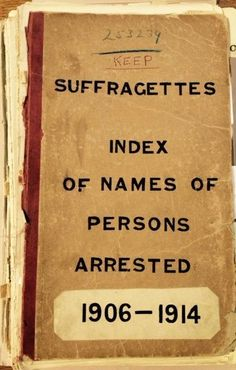 Women ©: 'Unknown' entries on Home Office List of Suffragettes arrested (catalogue reference HO Women In History, British History, Family History, Ancient History, American History, Native American, Women Suffragette, Maleficarum, Suffrage Movement