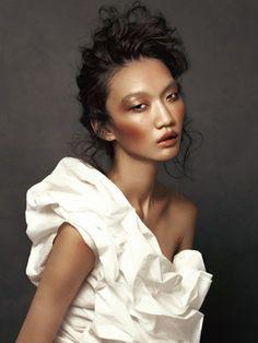 Bronzed skin