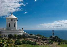 Capilla del Cerro San Antonio en Piriápolis. Vale la pena subir a conocerlo. Piriápolis, Uruguay.