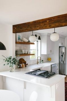 Clever Ideas for Small Kitchen Decoration #smallkitchen