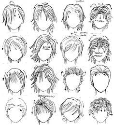 Enjoyable Anime Anime Male And Male Hair On Pinterest Short Hairstyles For Black Women Fulllsitofus