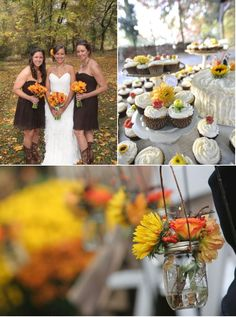 Autumn New Jersey Wedding from A Garden Party | Style Me Pretty