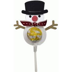 Silhouette Design Store: snowman lollipop