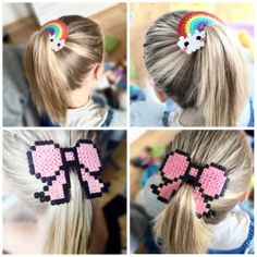 Flyvende feer – DIY til tøseværelset! Hama Beads 3d, Pixel Beads, Perler Bead Art, Pearler Beads, Diy Crafts For Kids, Arts And Crafts, Panduro Hobby, Homemade Art, Iron Beads