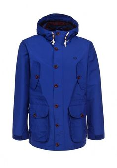 Fred Perry Mens Parka Jacket with Hood 100% Authentic Sizes: XS / S / M / L #FredPerry #Parka