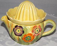 Carlton Ware Anemone juicer jug
