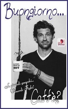 Good Morning Good Night, Day For Night, Funny Sms, Patrick Dempsey, Business Look, Green Day, Good Mood, Greys Anatomy, Say Hello