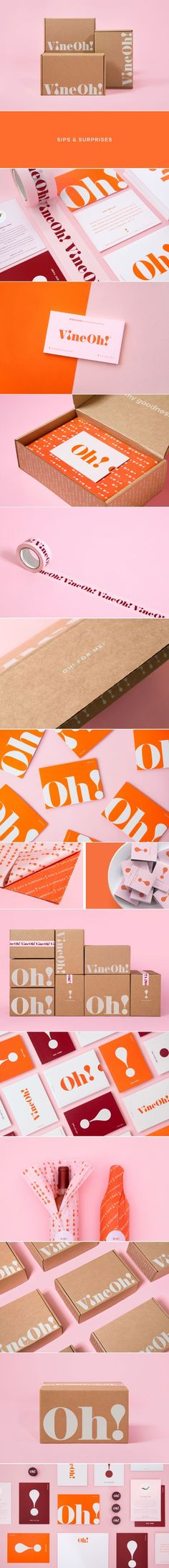 Vine Oh! wine branding and packaging by Morgan Stephens | Fivestar Branding Agency – Design and Branding Agency & Curated Inspiration Gallery