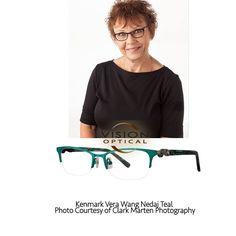 Vera Wang NEDAJ Green Eyeglasses Size50
