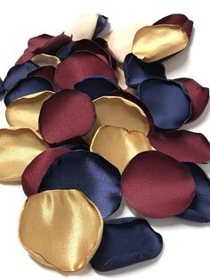 Handmade polyester satin and antique satin flower petals. They are great for aisles, tables and if you dont want to do the traditional bird seed throwing, this is a great alternative. Prices vary based on materials used and quantity. If you need an amount not listed, just ask and I can make a