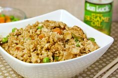 Recipe: Skinny Chicken Fried Rice
