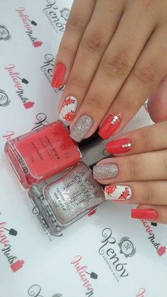 Stunning nail art trend ideas for 2019 013 Stunning nail art trend ideas for 2019 013 Aycrlic Nails, Cute Nails, Pretty Nails, Spring Nails, Summer Nails, Luxury Nails, Gel Nail Designs, Flower Nails, Fabulous Nails