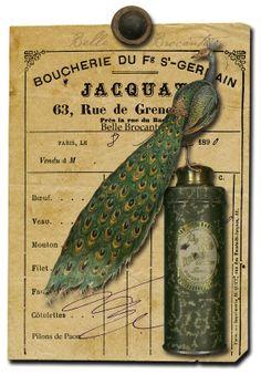 Boucherie St. Germain.  From La Belle Brocante.