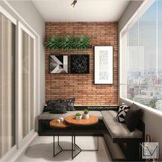 [New] The 10 Best Home Decor Ideas Today (with Pictures) - Inspiração: Varanda Gourmet Projeto: House Design, Balcony Furniture, Home, Apartment Interior, Small Balcony Decor, Patio Design, House Interior, Home Deco, Home Interior Design