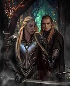 Legolas and King Thrand...epicuil