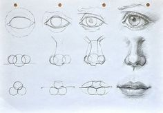 How to draw a face step by step - @skilosac