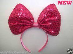 big pink hair bow - Google Search