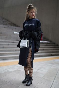 Look at this Gorgeous korean fashion outfits 2558554863 Seoul Fashion, Korea Fashion, Asian Fashion, Look Fashion, Fashion Outfits, Fashion Design, Queer Fashion, Tomboy Outfits, Fashion Styles
