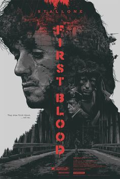 First Blood Poster by Gabz  (Onsale Info)