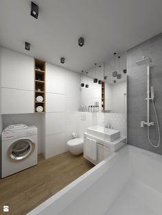 ŁAZIENKA - 5 m2 - Łazienka, styl minimalistyczny - zdjęcie od BIG IDEA studio projektowe