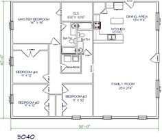 1000 images about shop house plans on pinterest pole for 40x40 garage plans