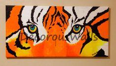 Wild Cat by DecorousWalls on Etsy