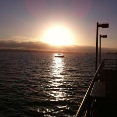 Sunset scenes in Ca