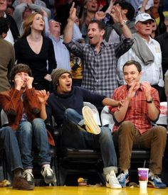 simon helberg, kunal nayyar and jim parsons
