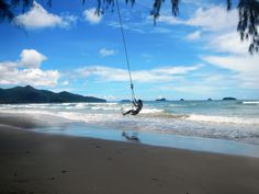 Chillin' swingin' and happy - beach life on Koh Chang Beautiful Scenery, Most Beautiful, Koh Chang, Property Development, Planets, Thailand, Paradise, Places To Visit, Beach