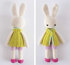 Angie Bunny clothing patterns DIY Easter projects