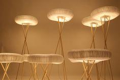Cloud Floor + Table Softlights by Molo Design lighting