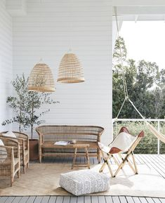 Garden Spaces, Hanging Chair, Wicker, Your Style, Minimalist, Furniture, Instagram, Texture, Board