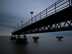 Edgewater Park fishing pier, Cleveland Lakefront State Park