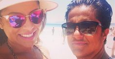 Andressa Ferreira exibe pelos descoloridos na praia e faz declaração para Thammy Miranda