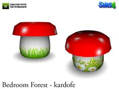 Is mushroom-shaped table  Found in TSR Category 'Sims 4 Dining Tables'