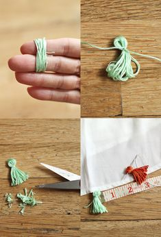 Tassel DIY steps