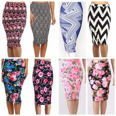 Lovely fitted skirts make you look amazing