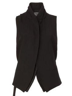 Achetez Ann Demeulemeester veste sans manches en L Eclaireur from the  world s best independent boutiques 2d8fa931708