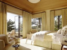 Bedroom Photos Linen County Curtains Design, Pictures, Remodel, Decor and Ideas - page 4