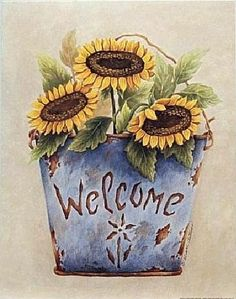 sunny welcome