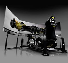 But, you can get that same feeling, if you get yourself a Vesaro Motion Racing Simulator ($16,000). This advanced simulator was made for home or professional race driver training, and it can also be used with PC, XBOX and Playstation 3 or Vesaro dedicated Sim PC systems.