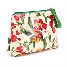 Royal Horticultural Society floral cosmetic pouch