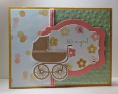 Baby card using Something for Baby from the Stampin' Up! 2014-2015 catalog by Emily Mark SU demo Greenfield Park, Quebec www.southshorestamping.com - CCMC301