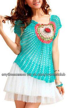 Crochet bolero for everyday Crochet Cover Up, Crochet Cap, Crochet Blouse, Love Crochet, Knit Dress, Tulle Dress, Dress Patterns, Crochet Patterns, Crochet Woman