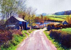 Richard Thorn, Wiltshire Siesta | John Davies Gallery
